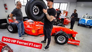 HOW TO EMBARRASS SUPERCAR OWNERS? BUY A FERRARI F1 CAR...