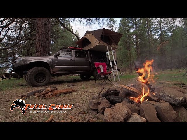 Toyota Tacoma Overlanding in Arizona with Long Travel Suspension from Total Chaos