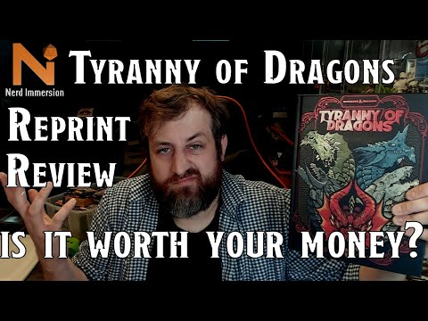 Tyranny of Dragons Reprint Review | Nerd Immersion