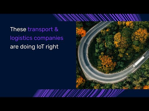 IoT in Transportation and Logistics