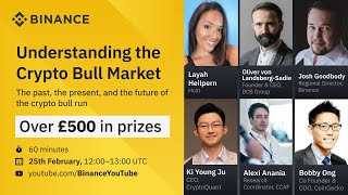 Binance Webinar: Understanding The Crypto Bull Market