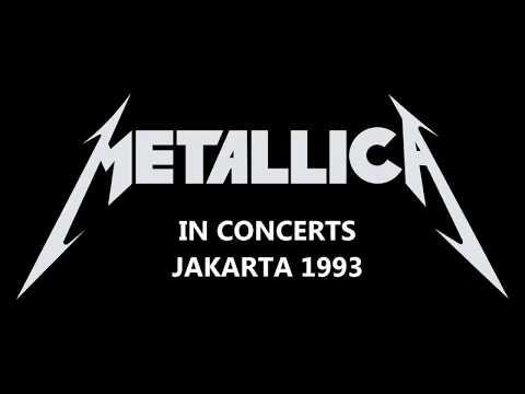 Metallica In Concerts Jakarta Indonesia (1993)