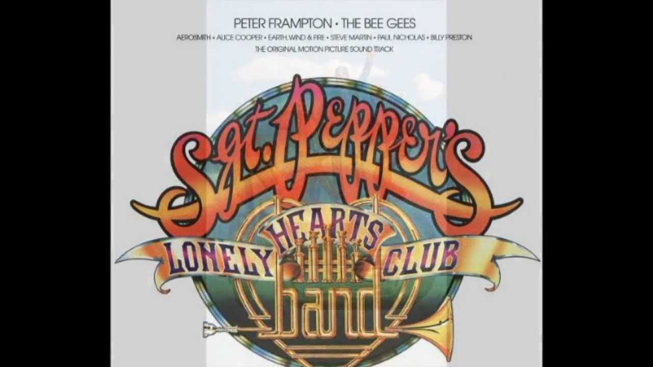 Bee Gees Amp Peter Frampton Sgt Pepper S With A Little