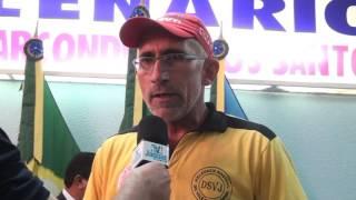 Raimundo Santiago do sindicato dos servidores federais é contra a reforma da previdência