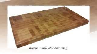End Grain Hard Maple Butcher Block Countertop By Armani Fine Woodworking