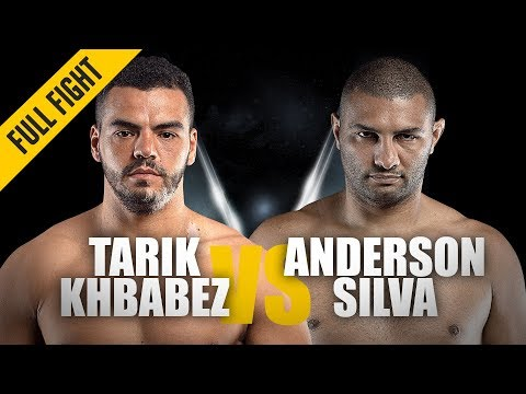Tarik Khbabez vs. Anderson Silva | ONE Full Fight | ONE Super Series Classic | June 2019