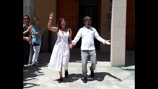 Melissa and Manu. Wedding and speech of the Major, 22-6-18