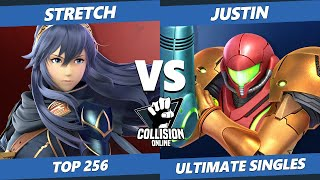 Collision Online Ultimate Top 256 - Stretch (Lucina) Vs. Justin (Samus) SSBU Singles