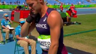 kevin MAYER: Decathlon 8834 points en moins de 5'
