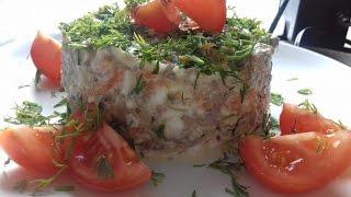 Салат с куриными сердечками ☼ Очень просто и вкусно