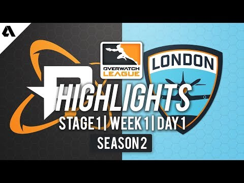 Philadelphia Fusion vs London Spitfire | Overwatch League S2 Highlights - Stage 1 Week 1 Day 1 thumbnail
