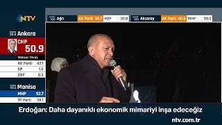 Cumhurbaşkanı: ''Seçimin birincisi AK Parti, diğerleri düşünsün'' ... (Erdoğan'ın balkon konuşması)