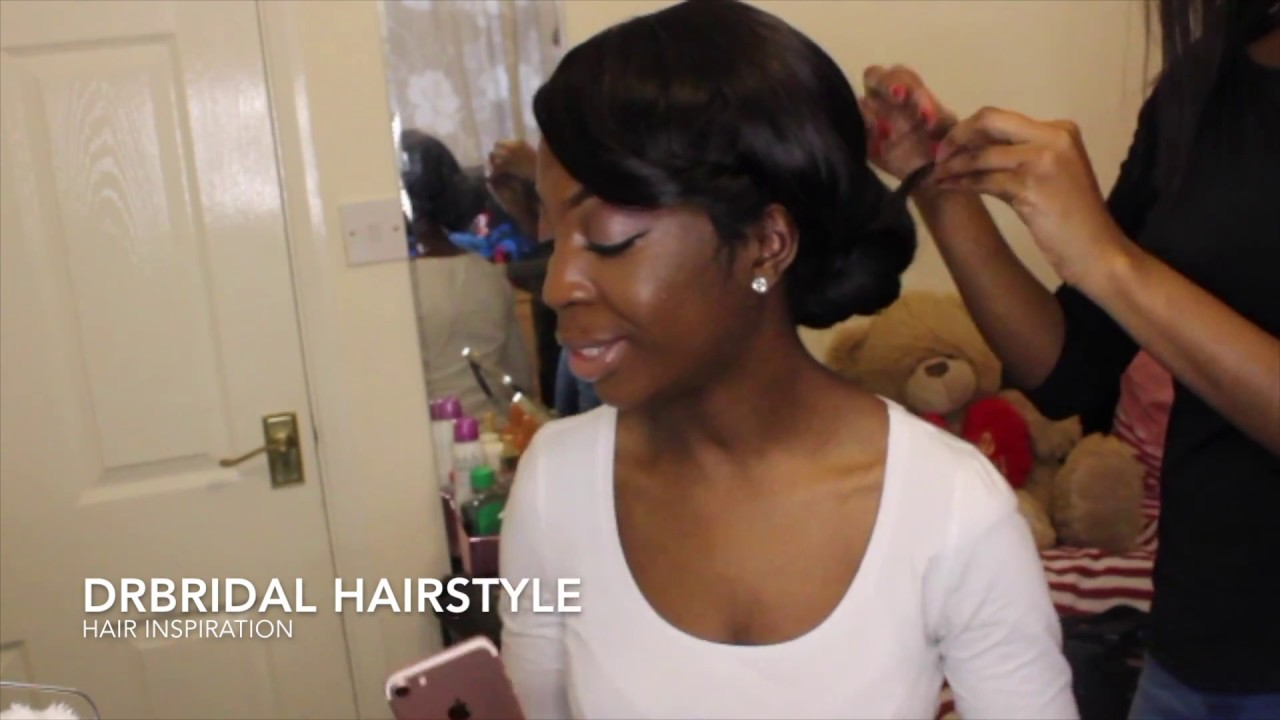 BRIDAL HAIR INSPIRATION || CLOSURE WIG ||
