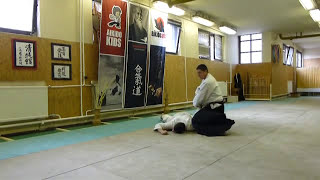 ushiro ryotedori sankyo ura [TUTORIAL] Aikido empty hand basic technique
