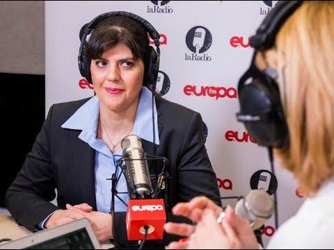 Laura Codruta Kovesi este La Radio cu Andreea Esca