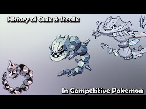 How GOOD were Onix & Steelix ACTUALLY? - History of Onix & Steelix in Competitive Pokemon (Gens 1-6)