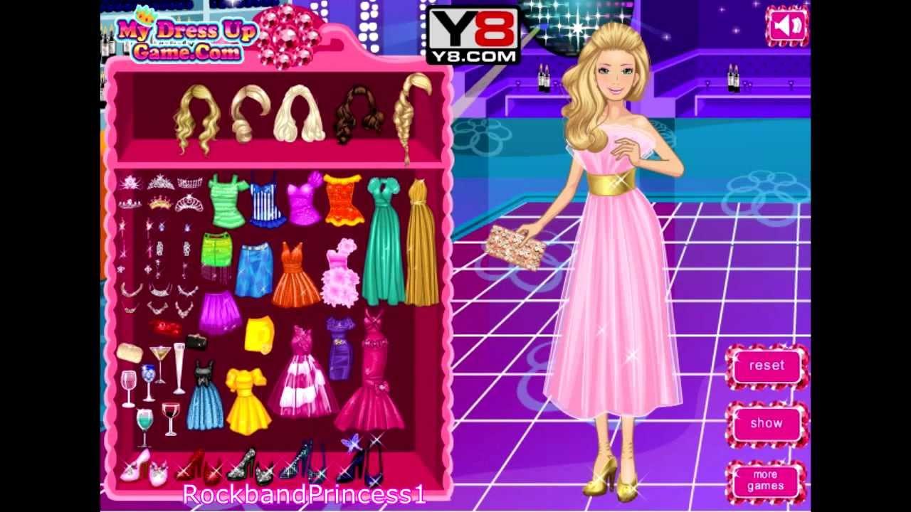 Free Barbie Prom Dress Up Games