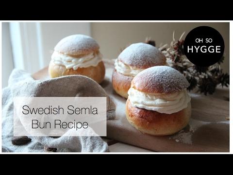 How to Make Swedish Semla Buns (Semlor) Lent/Fat Tuesday/Pancake Day