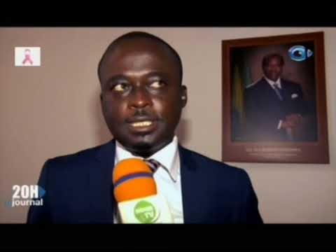 Inauguration du nouveau bureau du port   môle par le Directeur General du Conseil Gabonais des Char