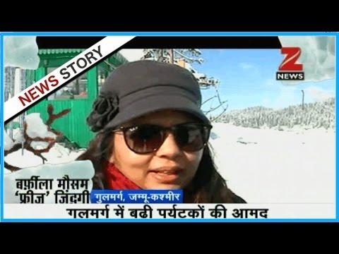 Heavy snowfall in J&K, Jammu-Srinagar highway closed