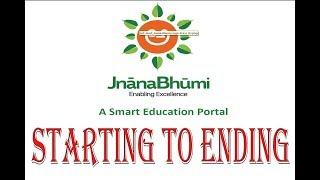 JNANABHUMI FROM STARTING TO ENDING