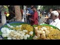 Best Chennai Lunch @ 30 rs Only | Curd Rice / Samber (Khichdi) Rice / Vegetable Rice