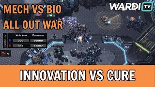 MECH VS BIO WAR!! INnoVation vs Cure (TvT) - Kung Fu Cup 2020 #4 GRAND FINALS