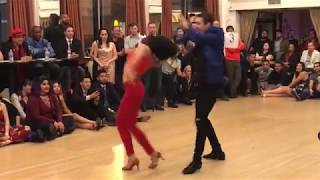 DANNY & NAYARA SALSA DANCE @ THE GRANADAS LA BEST SOCIAL DANCERS COMPETITION 2018