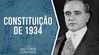 3ª Constituição Brasileira – 1934: Resumo completo - História Contada
