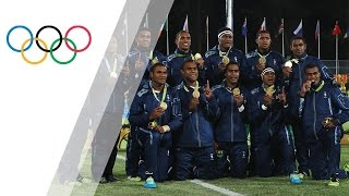 National anthem: The best of Fiji in Rio