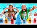 TWIN TELEPATHY SLIME CHALLENGE!! (CHRISTMAS EDITION)