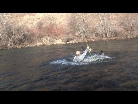 Fishing The Imnaha River In Oregon For Steelhead