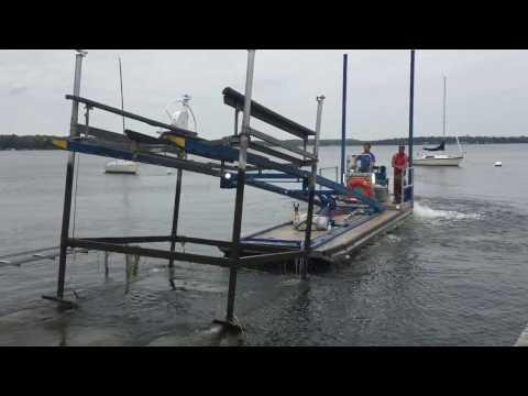KANN Fork Barge   Deano Dock and Lift   Waunakee, WI