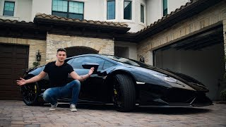 I BOUGHT A LAMBORGHINI HURACAN FOR MY BIRTHDAY! (MY NEW CAR)