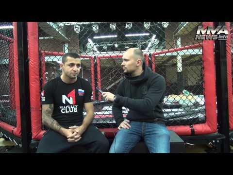 Интервью Энрике Гогохия для MMANews.Info