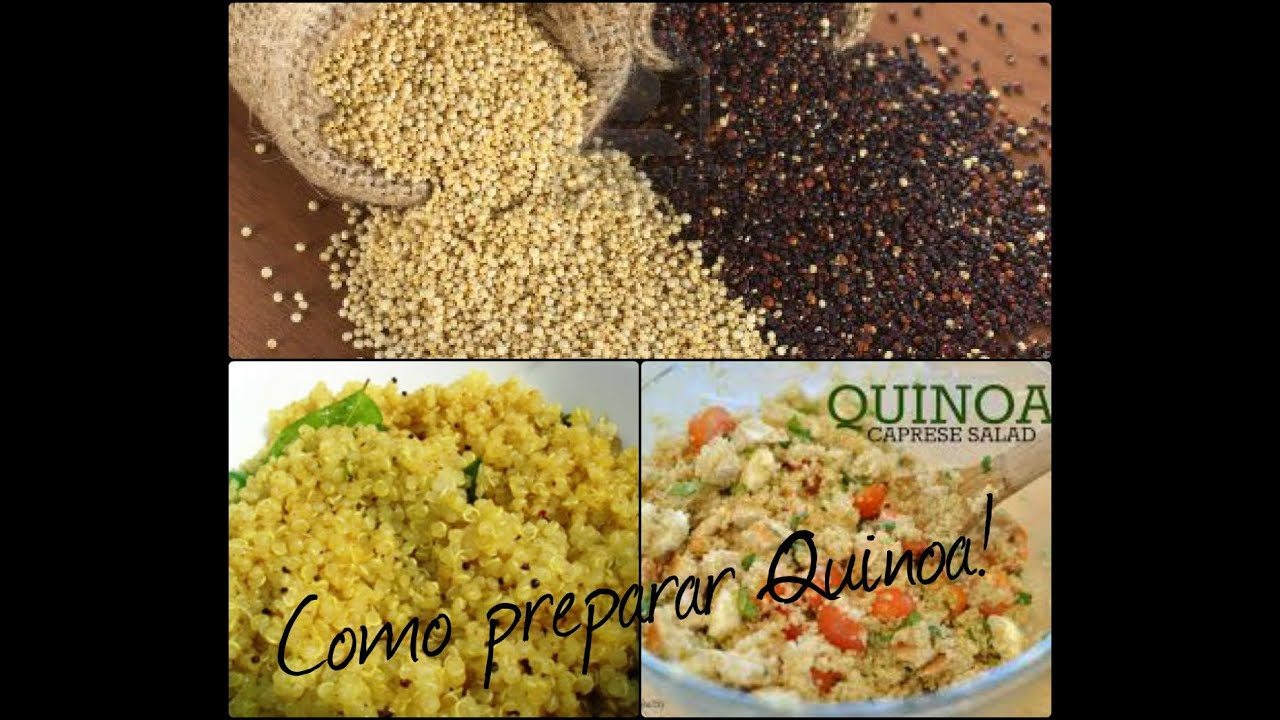 Como preparar quinoa youtube for Cocinar quinoa roja