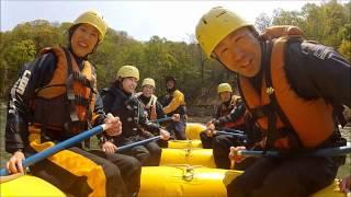 北海道ライオンアドベンチャー 尻別川春コース 2012 5 22