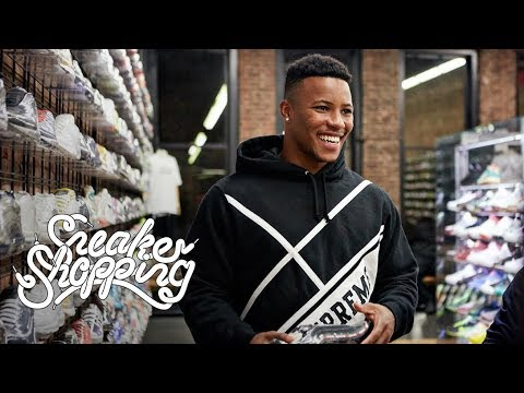 Saquon Barkley Goes Sneaker Shopping With Complex