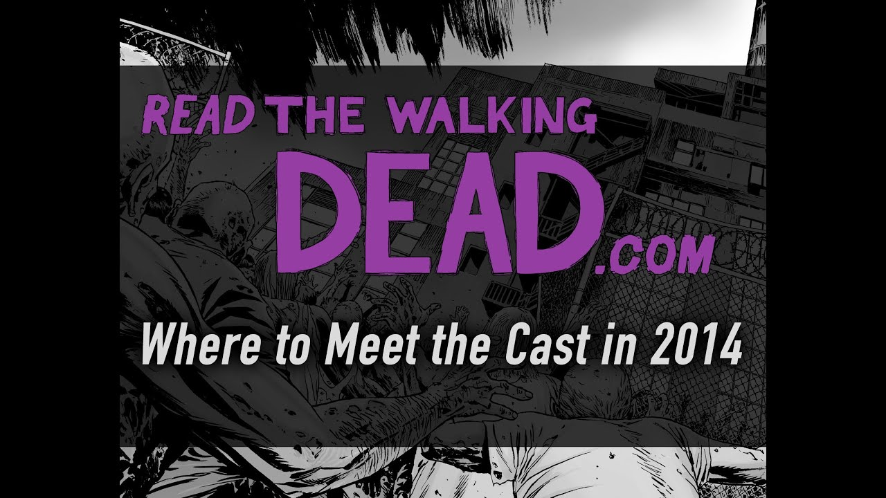 i want to meet the cast of walking dead