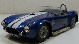 Тюнинг моделей. Ремонт Shelby Cobra 1965 года(Тюнинг моделей. Ремонт Shelby Cobra (Шелби Кобра)1965 года. У данного автомобиля отсутствовало лобовое стекло, пере..., 2015-12-25T09:43:44.000Z)