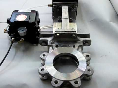 Automated Knife Gate Valve Package Youtube