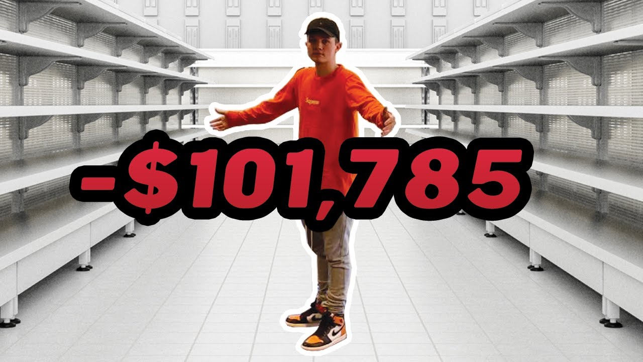 I Bought Every Sneaker In This Store!!
