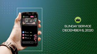 Sunday Service - December 6, 2020