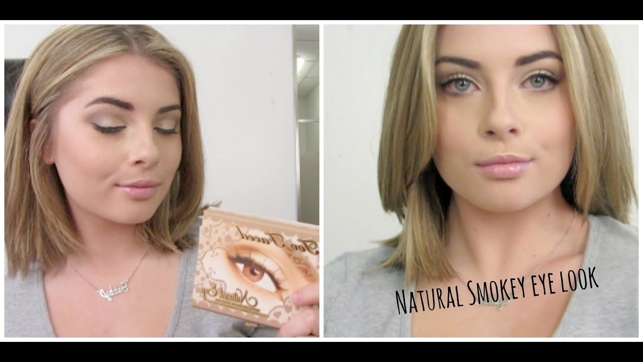 Natural Eyeshadow Tutorial For Blue Eyes