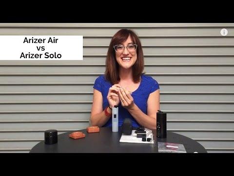 Arizer Air vs Solo