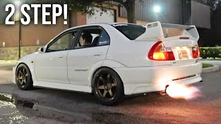 Evo 5 Gets Launch Control + No Lift Shift!