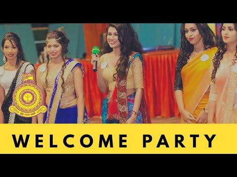 Wellcome party 2k18 , University Of Colombo , Faculty Of Arts