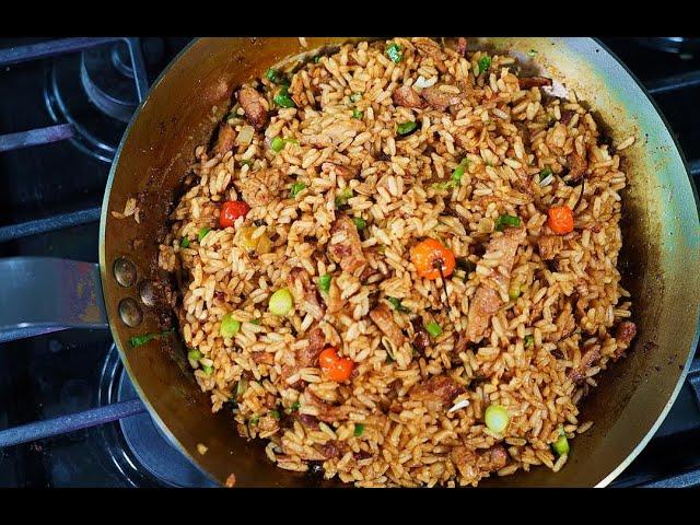 Pepper Pork Fried Rice | CaribbeanPot.com