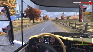 Euro Truck Simulator 2 (2016) Gameplay PC/HD 7750 (Comentariu In Romana) [GamePad]