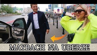 Jeździłem Maybachem za PONAD MILION ZŁOTYCH na Uberze w Warszawie !